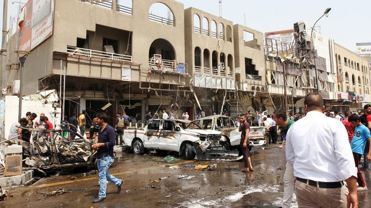 10 قتلى وأكثر من 20 جريحا بتفجير سيارة مفخخة في بغداد
