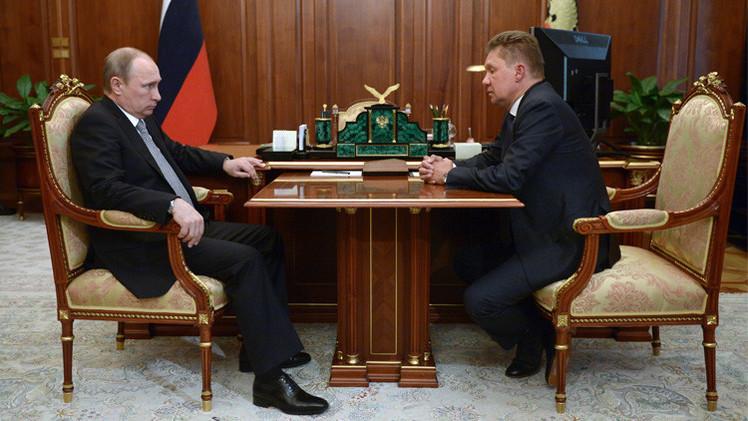 غازبروم: قادرون على تلبية الطلب داخل روسيا وخارجها