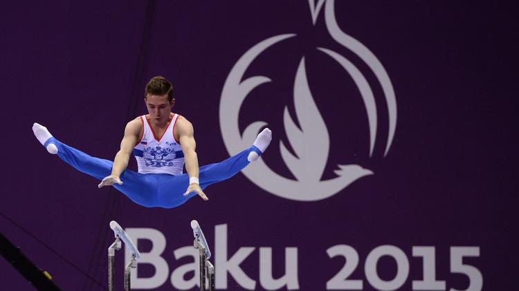 الألعاب الأوروبية .. الفريق الروسي للرجال يحرز ذهبية الجمباز