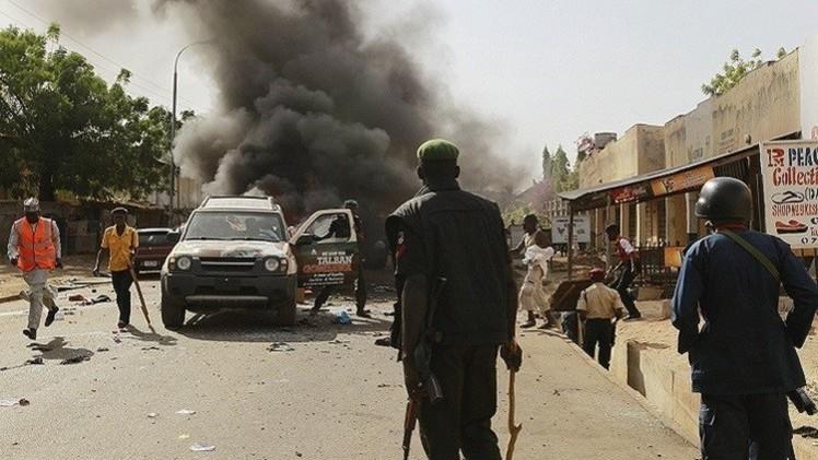 مقتل 10 أشخاص بهجومين انتحاريين في نيجيريا