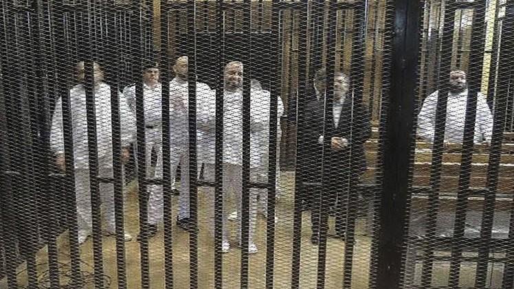 الإعدام لمرسي وآخرين من قادة