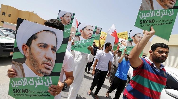 السجن 4 سنوات لزعيم معارض في البحرين