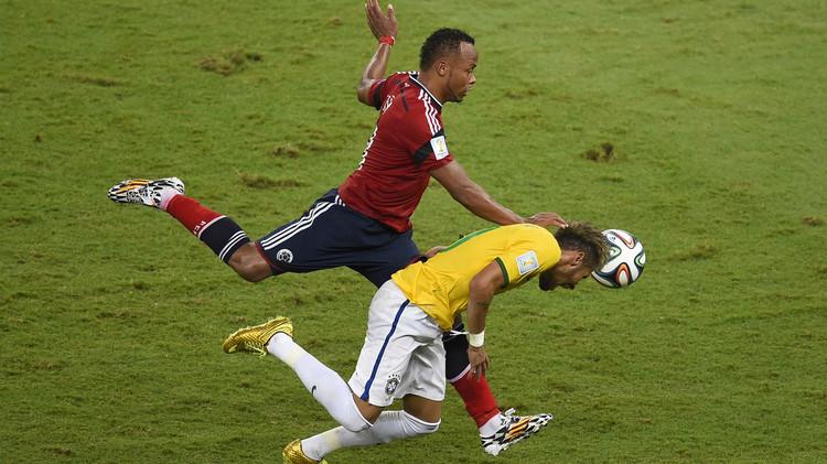 موقعة ثأرية بين البرازيل وكولومبيا