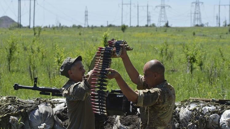 كييف: محادثات مينسك أثرت إيجابا على الوضع الأمني في دونباس