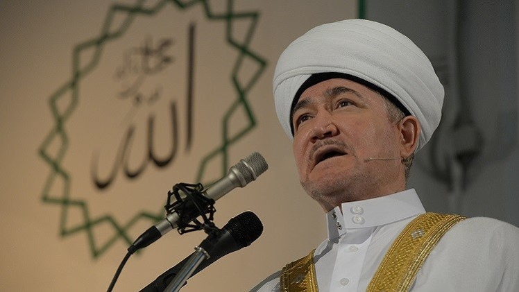 رئيس مجلس المفتين في روسيا يهنئ المسلمين بحلول شهر رمضان المبارك