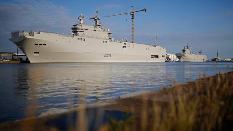فرنسا تسلّم روسيا جزءا من تكنولوجيا بناء