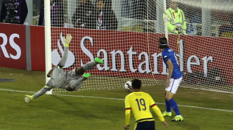 كولومبيا تهزم البرازيل لأول مرة منذ 24 عاما .. (فيديو)