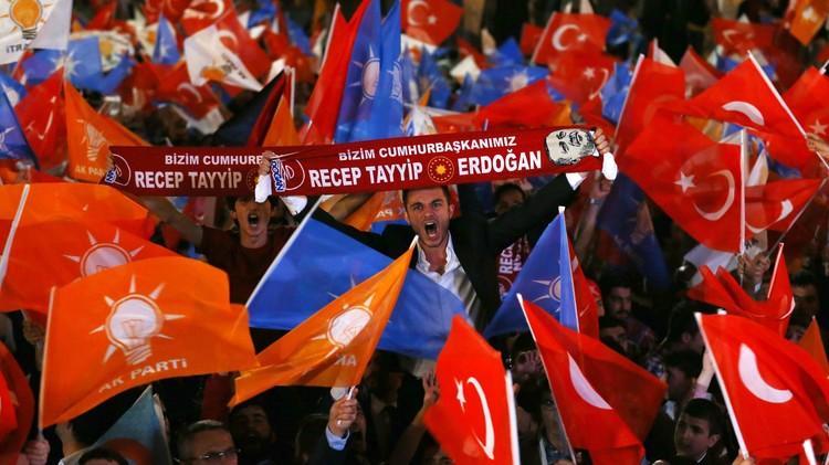تركيا.. حزب العدالة والتنمية يحصل على 258 مقعدا في البرلمان