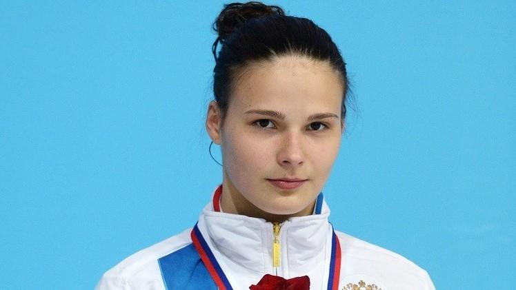 الروسية ماريا بولياكوفا تتوج بذهبية الغطس في باكو