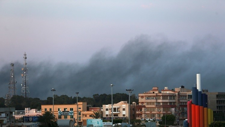 مقتل 5 جنود جراء سقوط قذيفة هاون ببنغازي