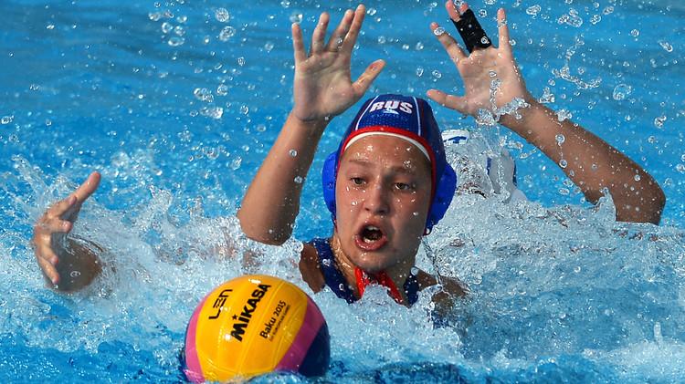 روسيا تحرز ذهبية كرة الماء للسيدات في دورة الألعاب الأوروبية