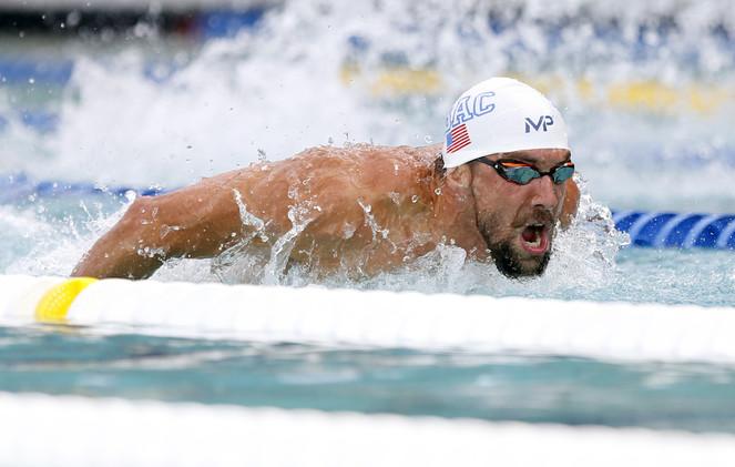 فيلبس يقطع شوطا كبيرا نحو أولمبياد ريو دي جانيرو