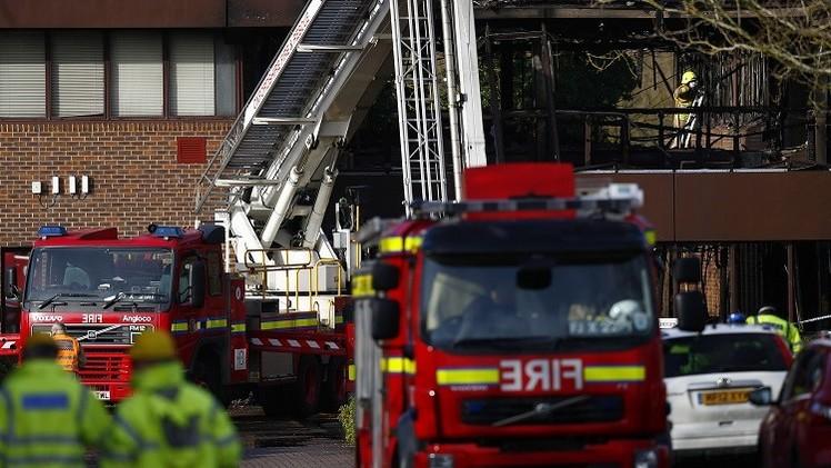 مقتل 3 بحريق في إنكلترا