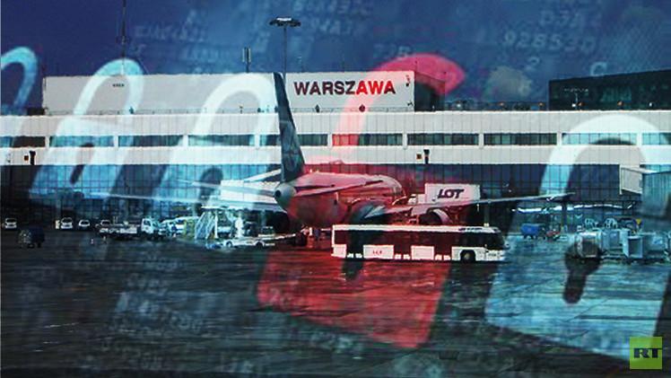 هاكرز يلغون رحلات جوية في مطار وارسو