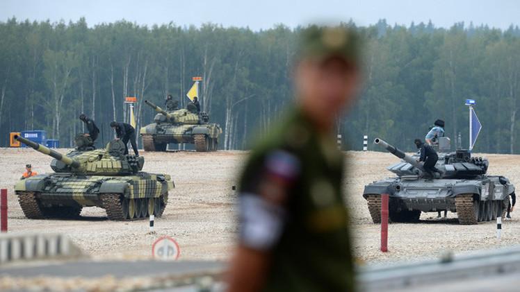 انطلاق مسابقة لعموم الجيش الروسي في قيادة الدبابات والرمي منها