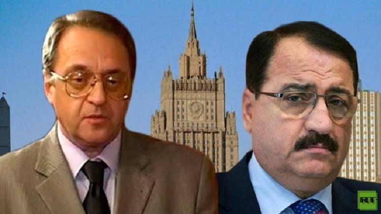 بوغدانوف يبحث مع السفير السوري في موسكو تسوية الأزمة سياسيا في بلاده