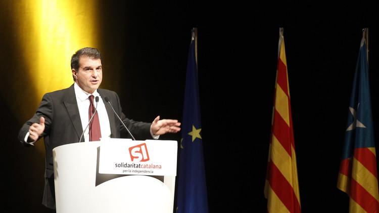لابورتا ينضم رسميا إلى سباق الانتخابات الرئاسية لبرشلونة