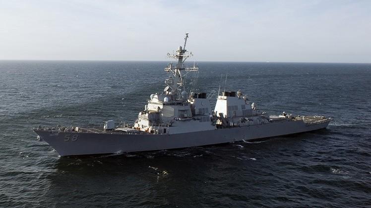 مدمرة أمريكية وسفينة استطلاع فرنسية  تدخلان البحر الأسود