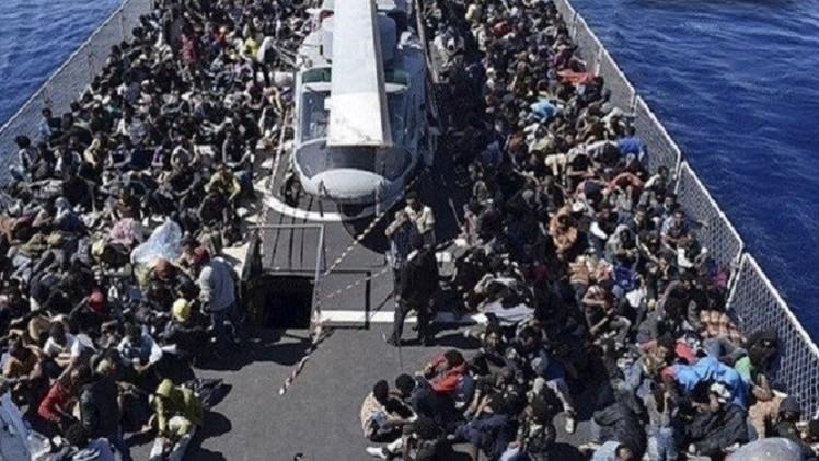 النرويج..إنقاذ نحو 600 مهاجر في البحر المتوسط