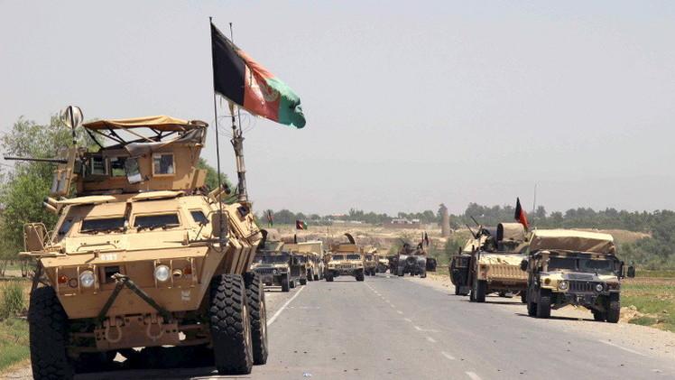 القوات الأفغانية تطرد مسلحي
