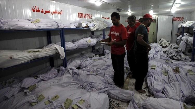 ارتفاع حصيلة ضحايا موجة الحر في باكستان إلى أكثر من 600 شخص