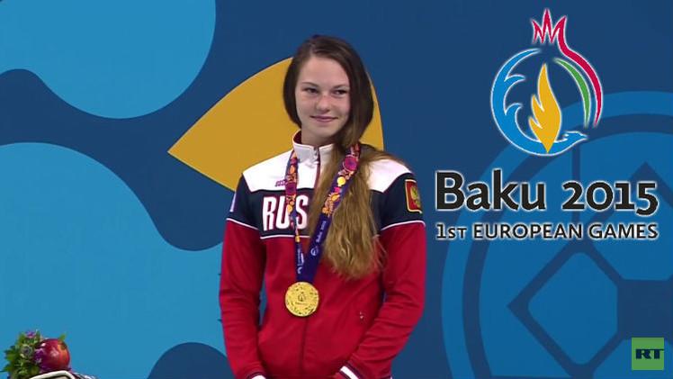 (فيديو) روسيا تضيف 7 ميداليات إلى خزانتها في دورة الألعاب الأوروبية