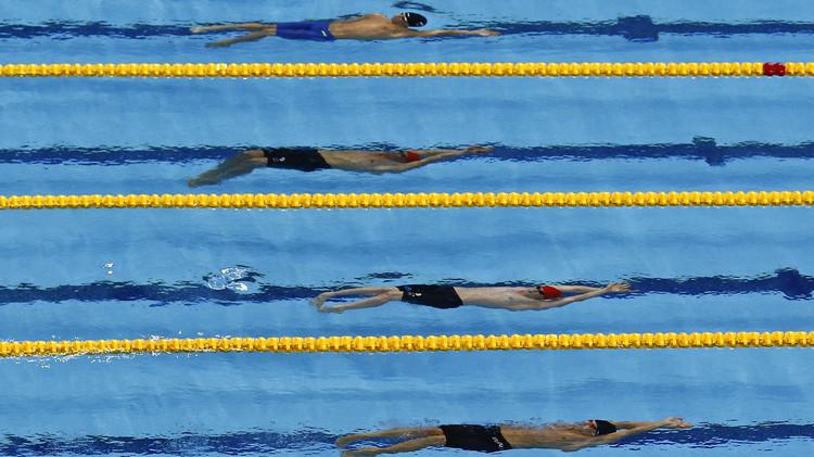 روسيا تضيف لخزانتها 10 ميداليات في السباحة في دورة الألعاب الأوروبية