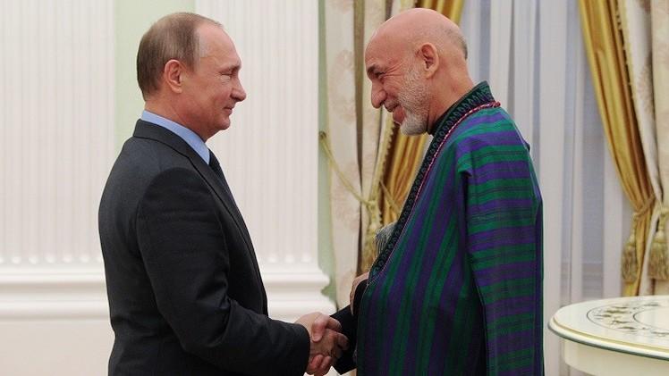 بوتين: روسيا قلقة من تنامي وجود
