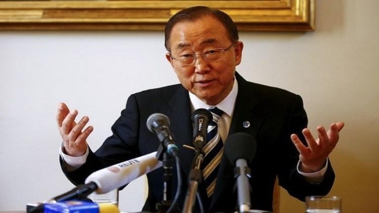 بان كي مون: يجب التحرك سريعا لمعالجة الوضع الإنساني في سوريا