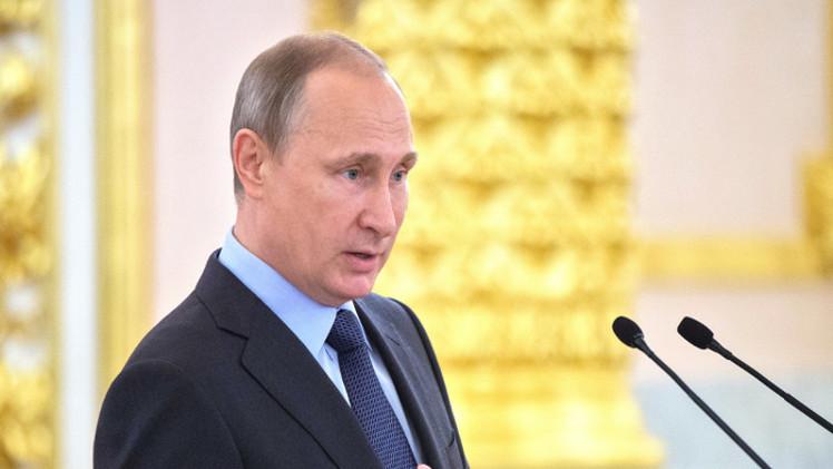 بوتين: نعزز جيشنا لدفع المخاطر ولا نية عدوانية لدينا تجاه أحد