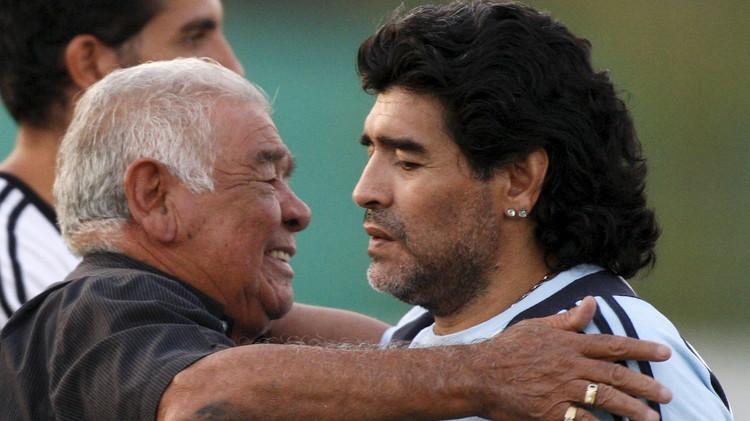 وفاة دييغو مارادونا الأب
