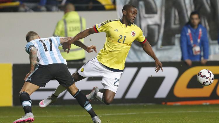 الكولومبي مارتينيز يؤكد انتقاله إلى أتلتيكو مدريد