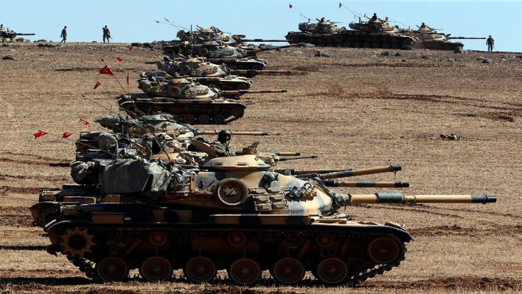 تركيا تلوح بعمل عسكري في الشمال السوري