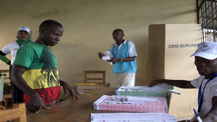 بوروندي تنتخب برلمانها وسط أجواء مشحونة