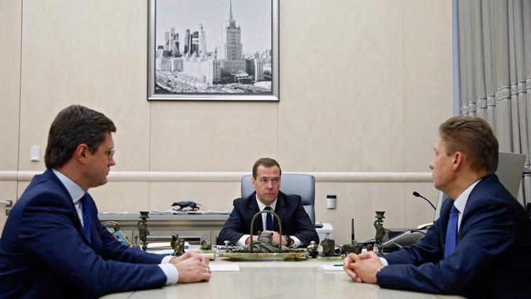 روسيا تحدد السعر النهائي للغاز المصدر لأوكرانيا في الربع الثالث