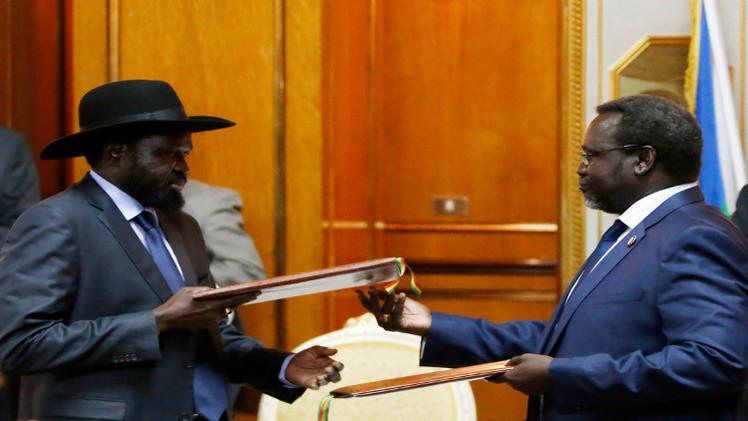 فشل اللقاء الثالث بين رئيس جنوب السودان وزعيم المتمردين