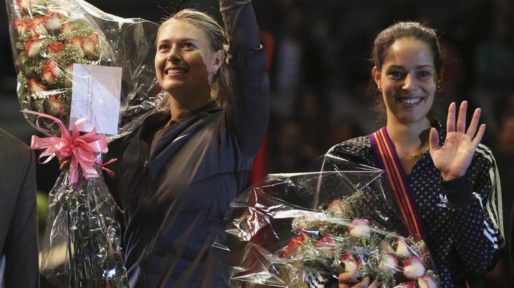 ماريا شارابوفا وآنا ايفانوفيتش إلى ثاني أدوار ويمبلدون .. (فيديو)