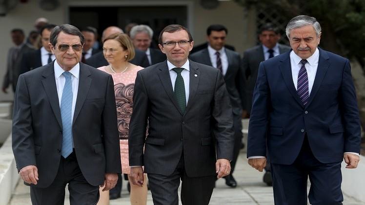 تقدم  في مباحثات إعادة توحيد قبرص