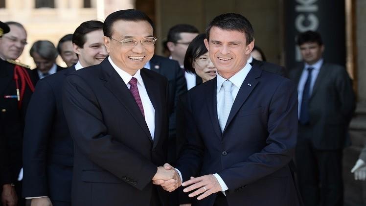 بكين وباريس توقعان خمسين عقدا ووثيقة تعاون