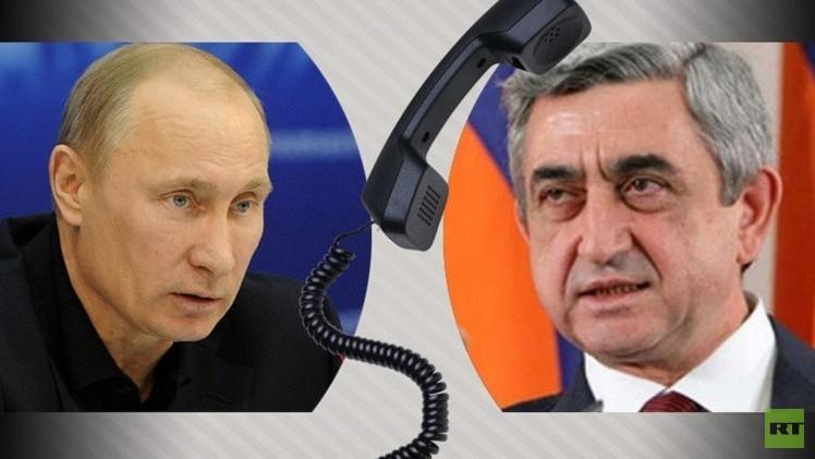الكرملين: بوتين وساركسيان بحثا العلاقات الثنائية وليس أسعار الكهرباء في أرمينيا