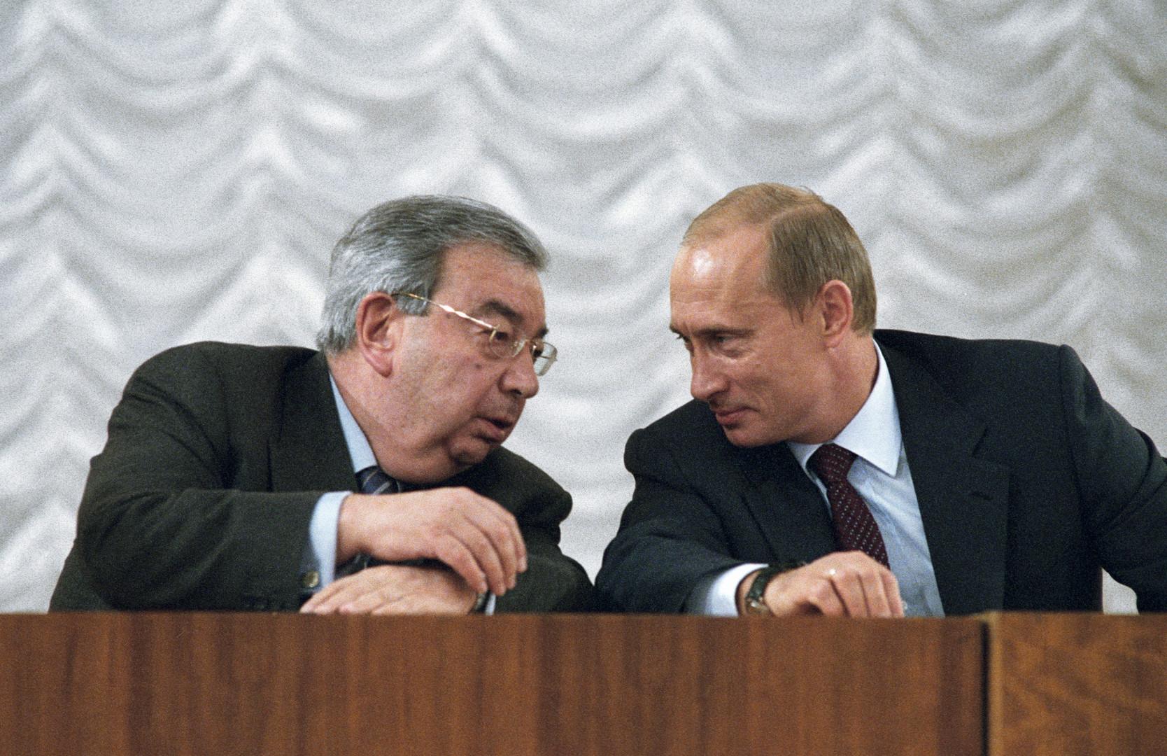 روسيا تودع بريماكوف إلى مثواه الأخير (فيديو)