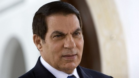 الرئيس التونسي المخلوع زين العابدين بن علي