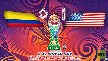 أمريكا تنهي مشوار كولومبيا في كأس العالم للشباب