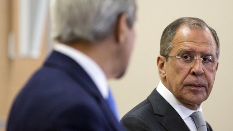 الخارجية الروسية: إيران وسوريا وأوكرانيا محاور مباحثات كيري ولافروف في فيينا