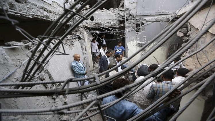 مراسلنا: التحالف العربي ينفي الاتفاق على هدنة جديدة في اليمن