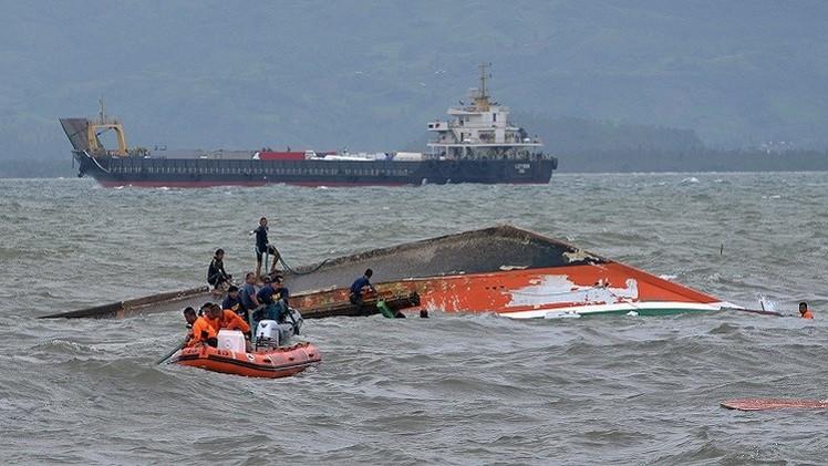 ارتفاع عدد ضحايا غرق العبارة الفلبينية إلى 45 شخصا