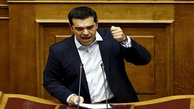تسيبراس يدعو اليونانيين للتصويت بـ