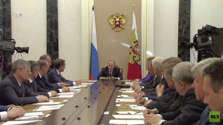 بوتين: يجب تعديل استراتيجية الأمن القومي وروسيا تتعرض لضغوط بسبب سياستها المستقلة