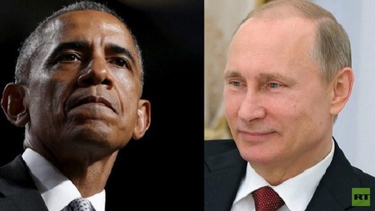 بوتين لأوباما: حوار بلدينا مفتاح الاستقرار العالمي