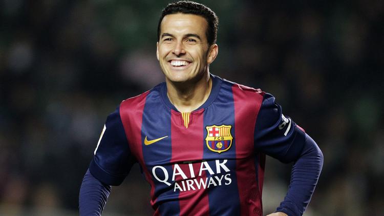 بيدرو يقضي أيامه الأخيرة في برشلونة